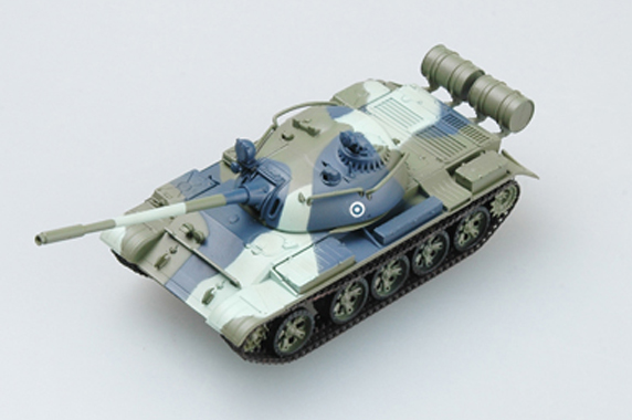 Tiger I Various -Totenkopf Pre Built Model Easy Model 36218 1:72 late production